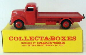 VINTAGE Dinky 30R-FORDSON camion-Rosso nella casella-Collecta