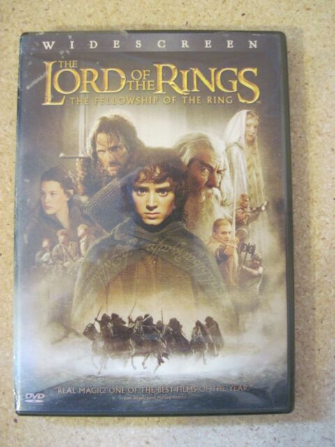 The Lord of the Rings:The Fellowship of the Ring (DVD,  2-Disc Set, Widescreen)