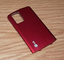 *Replacement* Red Battery Cover / Door For LG Shine CU720 Cell Phone **READ**