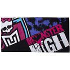 Monster High Beasties Bath Beach Character Towel Kids Holiday Sports Swimming