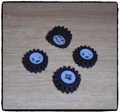 3x LEGO® Stein 1x2x2//3 mit seitlichen Noppen Kamera 4595 NEU hellgrau alt