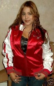 b03f7a2d Details about Tampa Bay Buccaneers Ladies Cheer Jacket Adult Sizes Red NFL  Women's Bucs