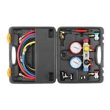 4 Way Diagnostic Manifold Gauge Set R410 R22 R134a Professional Achvac Tool