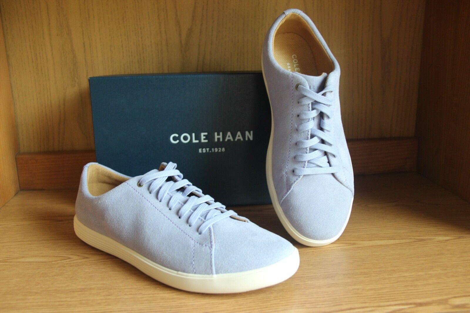 Cole Haan Grand Crosscourt Crosscourt Crosscourt II Sneaker Lavender Suede Women Size 9.5  W08783 e35cd8