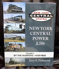 MORNING SUN BOOKS - NEW YORK CENTRAL POWER In Color Volume 2 - HC 128 Pages