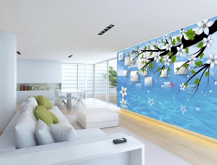 3D Wasserwellen 54 Tapete Tapeten Mauer Foto Familie Tapete Wandgemälde DE