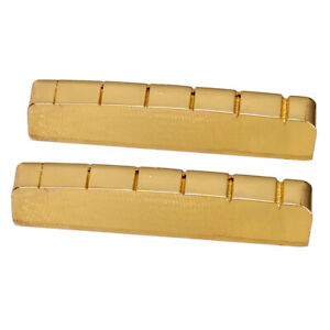 43mm 42mm Slotted Brass Nut LP Guitar Accessory for Les Paul Electric Guitar