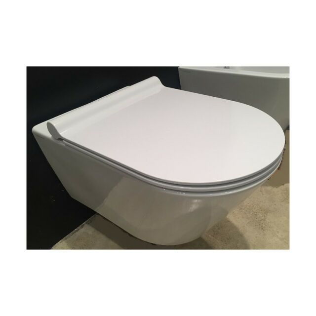 Incredible Wc Wall Hung Toilet Catalano Zero 55 New Flush 1Vs55Nr00 Seat Soft Close Plus Ibusinesslaw Wood Chair Design Ideas Ibusinesslaworg