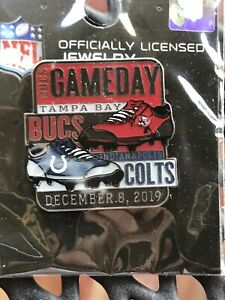 New & Sealed NFL Tampa Bay Buccaneers Colt - Bucs Game Day Pin WinCraft