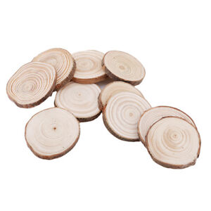 1pcs-Round-Wooden-Pieces-Circles-with-Tree-Bark-Wood-Log-Slices-DIY-Craft-6A