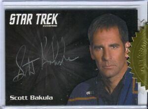 Star-Trek-2018-Enterprise-Archives-Series-1-Scott-Bakula-Autograph-Card