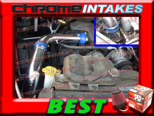 K/&N+BLUE RED 02 03-10 DODGE RAM 3.7L//4.7 4.7L//5.7 5.7L COLD AIR INTAKE STG2 3p