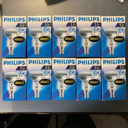 PHILIPS 40W E14 240V SES R50 1000h 30 angle SPOT LAMP LIGHT BULB