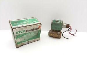 Asco-Red-Hat-8210G009-Solenoid-Valve-3-4-NPT