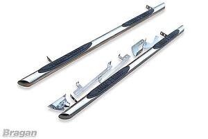 Passend-fuer-13-Ford-Transit-Tourneo-Kurzer-Radstand-Seiten-Stangen-Jeans-Enden