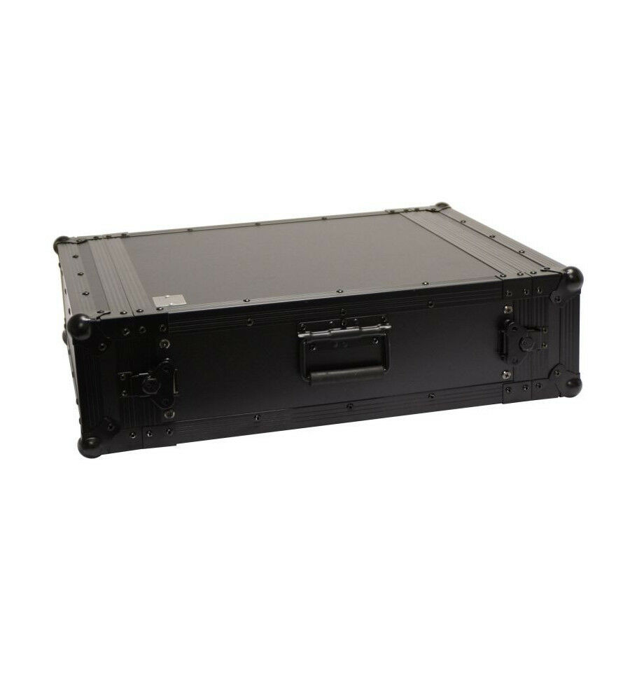 Flight Case Rack Pro 3U Nero Custodia BC3U