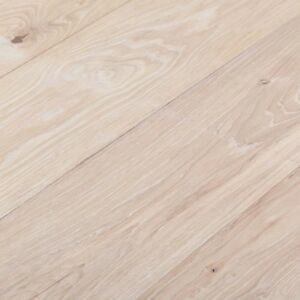 Extra White Solid Oak Flooring Sample Long Length Oak Flooring