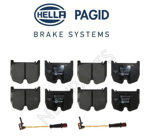For Mercedes R230 SL55 AMG 03-06 Front Brake Pad Set /& Sensors Hella Pagid