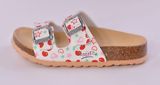 Superfit 00111-51 Infant Girls White Multi Buckle Mules UK 8 EU 26 US 8.5