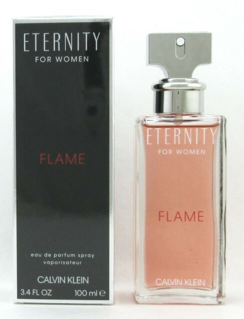 Eternity Flame By Calvin Klein Eau De Parfum Spray 34 Oz For Women