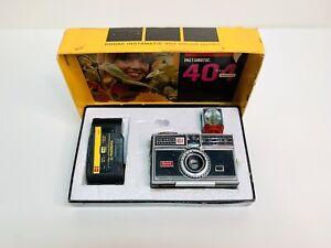 Vintage Kodak Instamatic 404 Camera (Untested!)