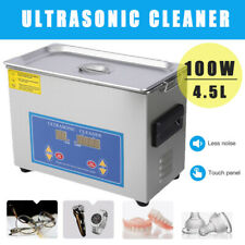 45l Ultrasonic Cleaner Stainless Steel Industry Heated Heater Withtimer Us Stock