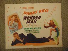 "Danny Kaye Virgina Mayo Vera Ellen Wonder Man Original 22x28"" Poster #L9506"