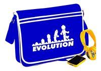 Lego Evolution Messenger Bag Blue Word Funny Retro Fun Gift - T Shirt In Shop