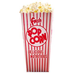 Image Is Loading Popcorn Bag Hot Ered Movie Theater Cardboard