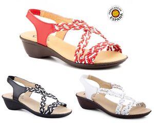 sandalia-cuna-trenzada-piel-color-Blanco-Negro-y-Rojo-tallas-35-a-41