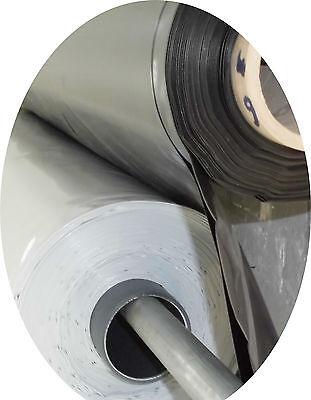 Silofolie 8,0m x 12,0m UV-stabil Folie Plane schwarz//weiß Abdeckfolie lichtdicht