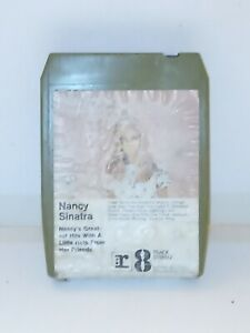 8-Track-Cassette-Nancy-Sinatra-greatest-hits-with-a-little-help-from-her-friends