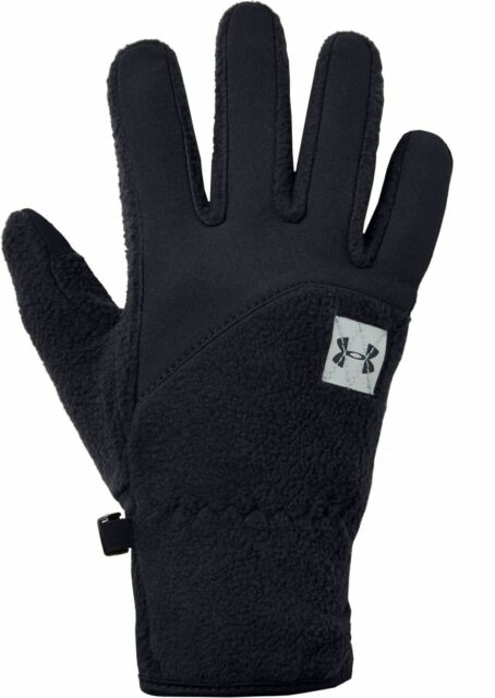 New Under Armour Unstoppable Fleece Coldgear Winter Gloves Youth Medium 1345407
