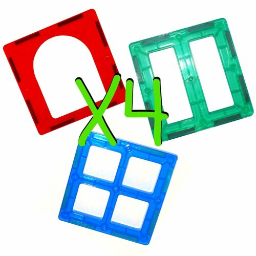 Mag-genius Magnet Building Tiles Create Your Own Set w// Individual Tiles