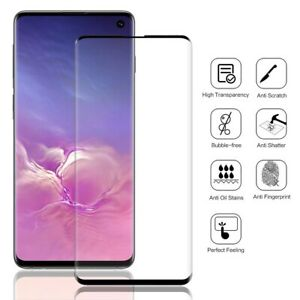 Screen-Protector-Tempered-Glass-Full-Coverage-For-Samsung-Galaxy-S10-Plus-S10