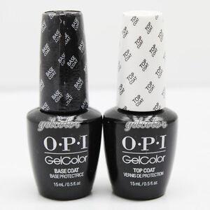 OPI-Gelcolor-Soak-off-Gel-Base-amp-Top-Coat-0-5-oz-15-ml-each-Duo-Set-GC-010-030
