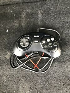 Sega-Genesis-6-Button-Controller-MK-1653-OEM-Official-TESTED-WORKS-GREAT