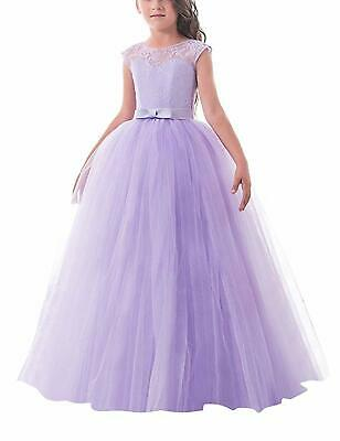 TTYAOVO Girls Embroidery Princess Dress Bridesmaid Wedding Party Pageant Vintage Dresses