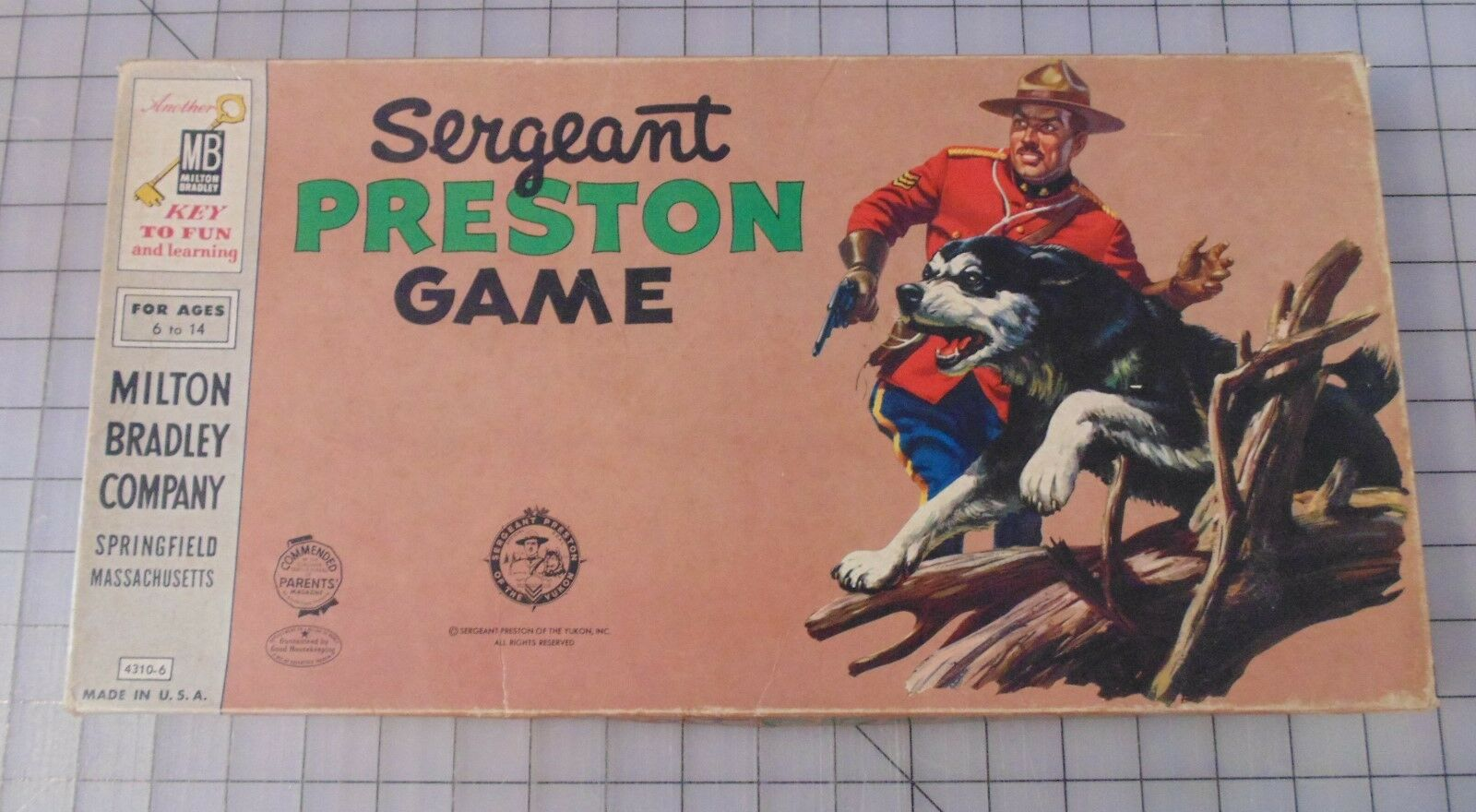 The Sergeant Preston Game, Complete, Good Condition  ()