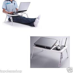 Dissipatore notebook da letto tavolino porta pc computer tavolo portatile ebay - Tavolino da letto per pc ...