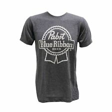 BRAND NEW Pabst Blue Ribbon PBR Beer Men's Charcoal Grey T-Shirt Large L