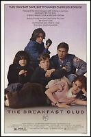 Breakfast Club One Sheet 24x36 Poster John Hughes Emilio Estevez Classic 80's