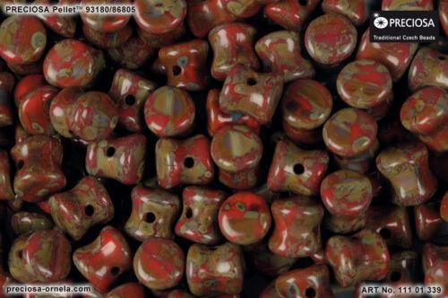 Choisissez Couleur 50pcs 4x6mm PASTILLE ™ Perles Preciosa Czech Pressed glass