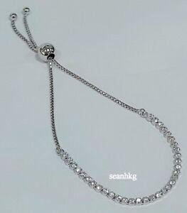 d75659521939e Details about Pandora Sparkling Strand Bracelet 23cm 590524CZ-1 Authentic  MIB