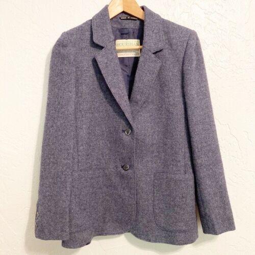 Authentic vintage Hourihan Blue tweed blazer