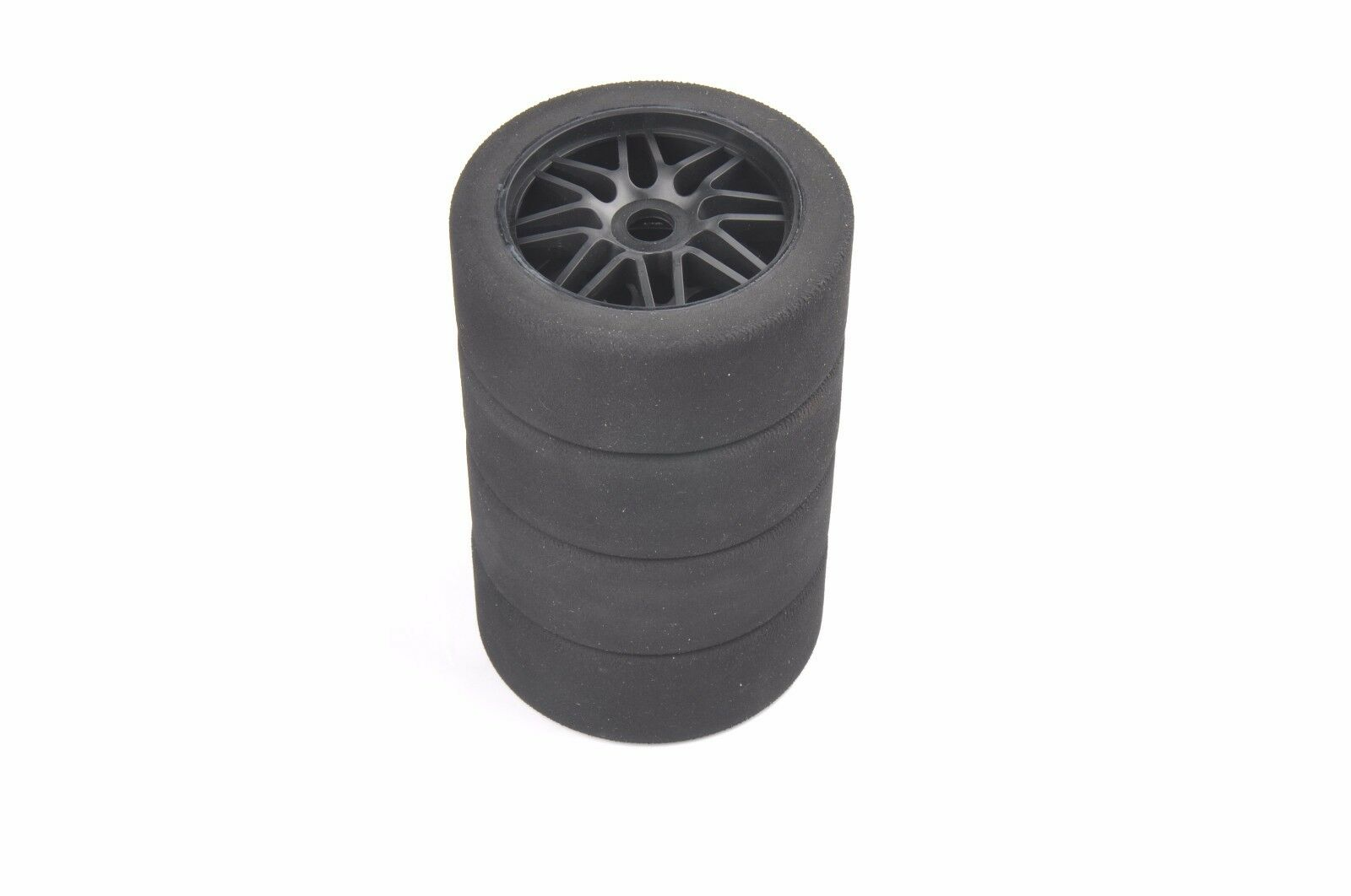 RC 4Pcs 1 8 Foam Tires&Wheel 17mm Hex For HSP On Road Racing Car light tyres Set