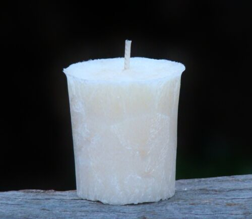 8pk LILAC /& FRANKINCENSE Triple Scented Gifts 160hr//pk Natural VOTIVE CANDLES