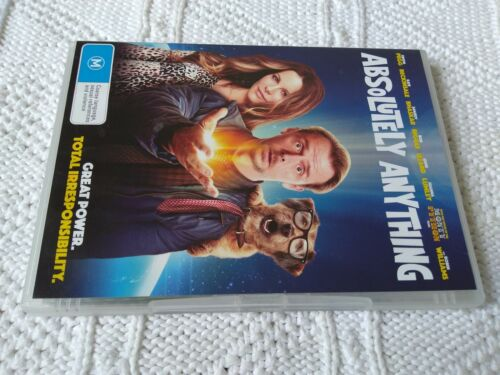 1 of 1 - Absolutely Anything (DVD, 2016) R-4, LIKE NEW, FREE POST IN ASUTRALIA