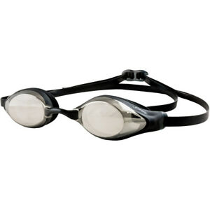 Actif Finis Strike Low-profile Competition Racing Goggles - Silver Mirror
