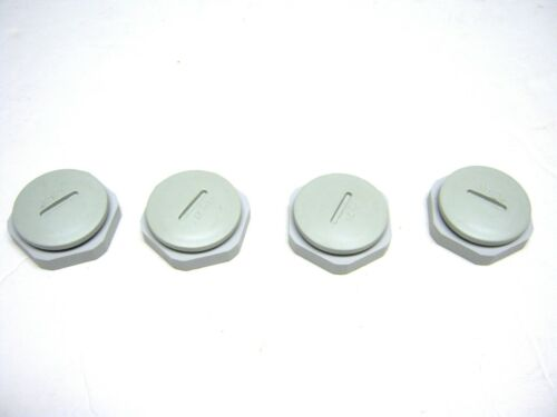 4 Hole Seals for Push button  59490 Oil Tight Weatherproof KO Lot of 4  ~